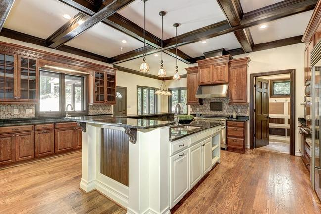 gourmet kitchen in Bethesda home for sale